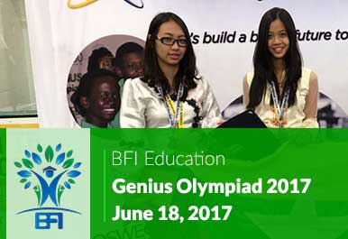 Genius Olympiad 2017 – A Great Achievement