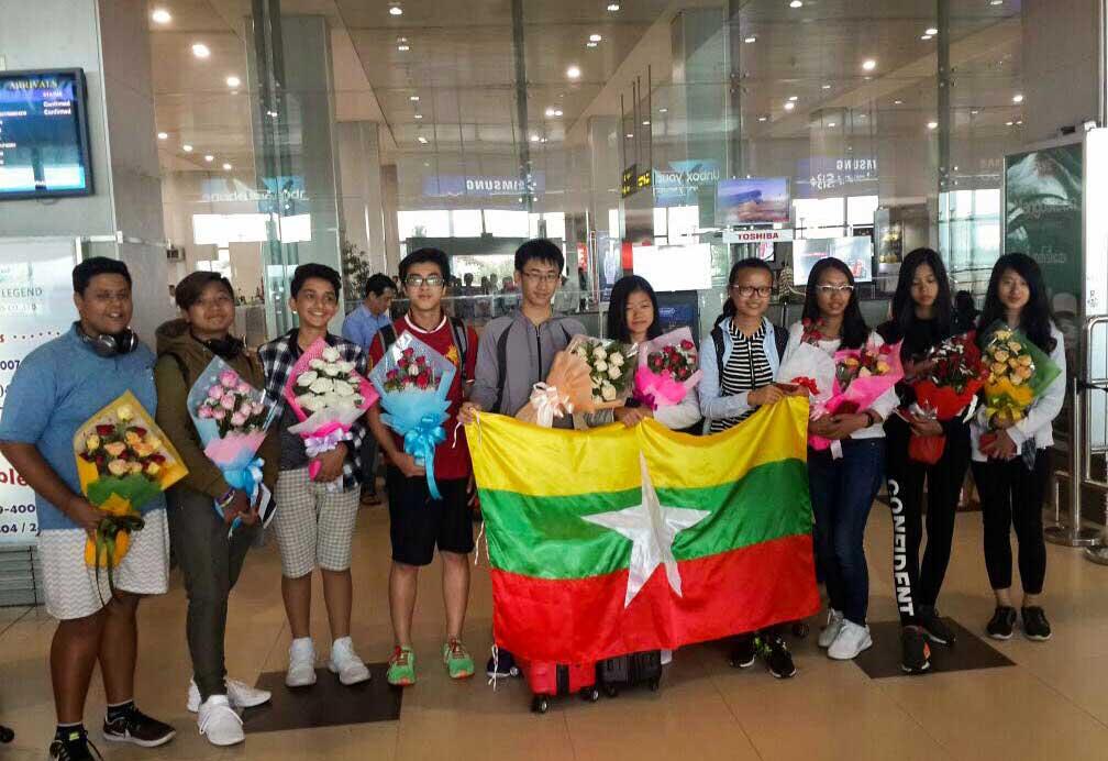 Welcome Genius Olympiad Team
