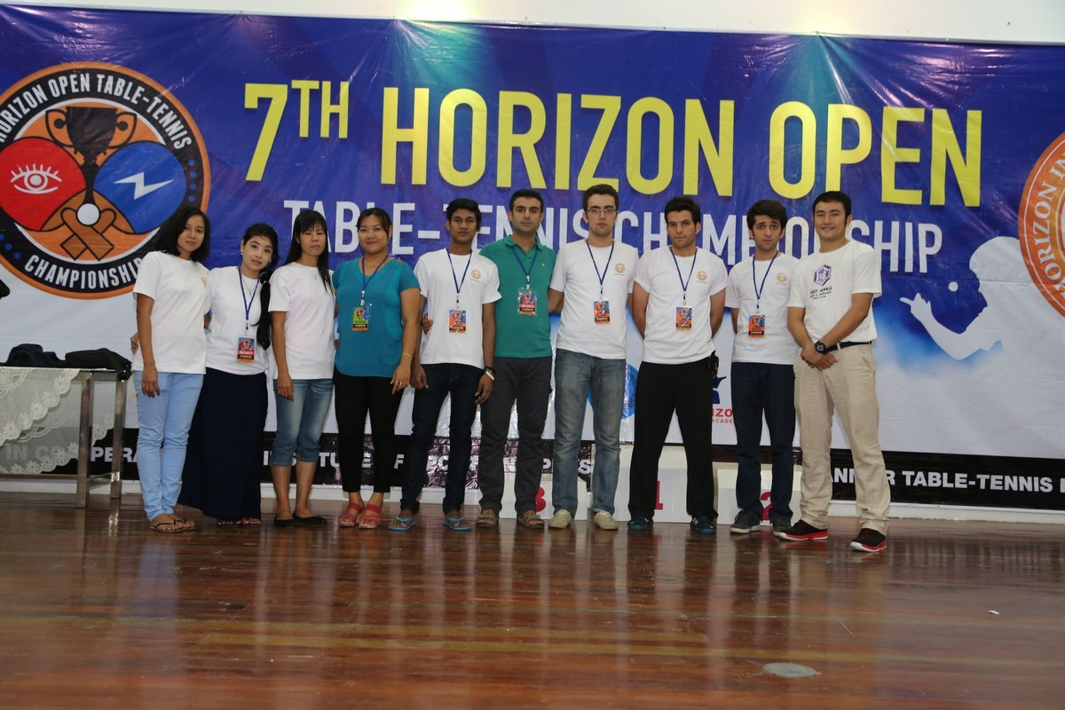 Horizon Open Table-Tennis Championship 2015 Has Been Successfully Held