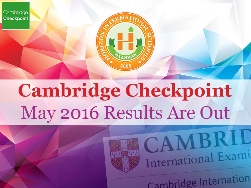 Cambridge Checkpoint May 2016 Results Are Out