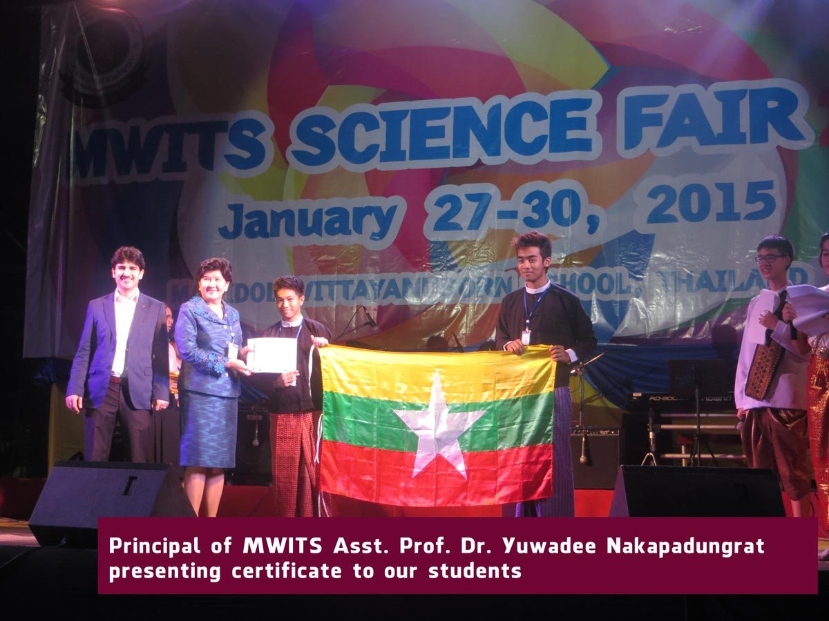 MWITS Science Fair 2015, Bangkok-Thailand