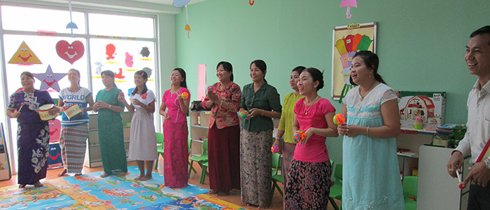 Music House Program at Nay Pyi Taw Kindergarten Campus