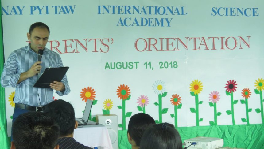 Parents' Orientation for school year 2018-2019