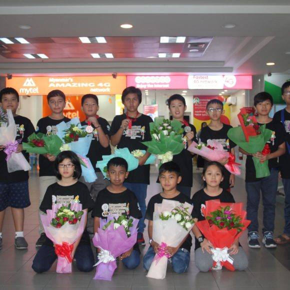 Twelve MISA students went to China for IMSO