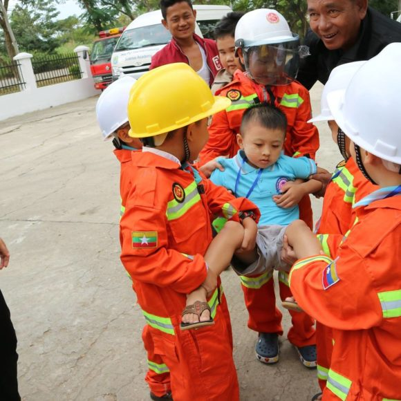 A day with Nay Pyi Taw Fire Fighters