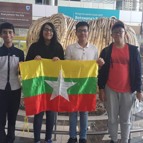 Our students arrive in Botswana for International Junior Science Olympiad