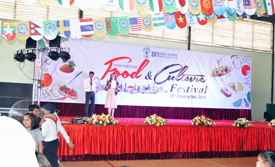 International food and culture festival host