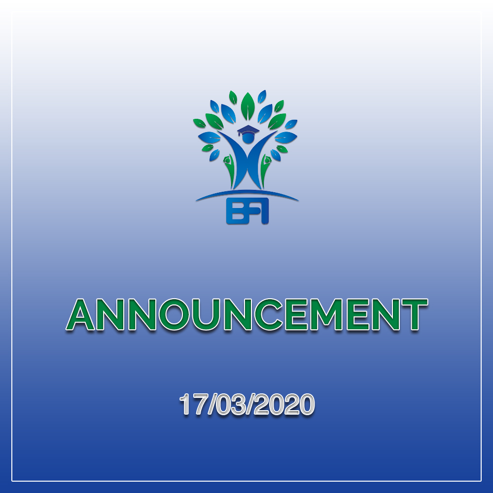 The government of Myanmar has issued advisory statements to close all Pre-school classes temporarily